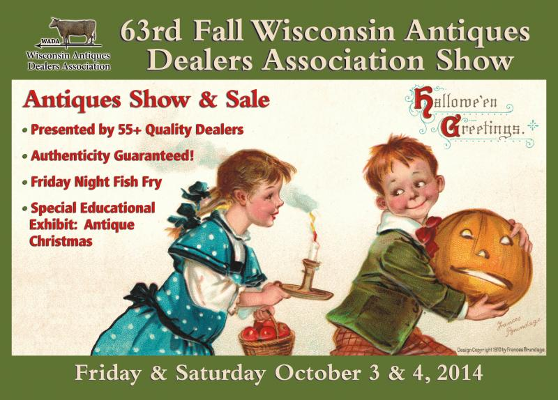 Wisconsin Antiques Dealers Association Fall Show, October, 2014